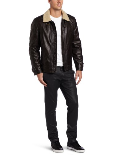 Levi's Men's Faux Shearling Aviator Jacket
