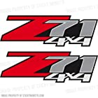Chevrolet Silverado Z71 4x4 GM HD Chevy Decals Stickers 1500 2500 3500 2