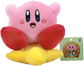 Kirby Mini Plush Doll with Ball Chain - 45quot Kirby Sitting on Star
