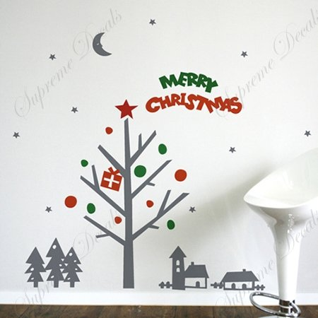 Christmas is coming - removable vinyl art wall