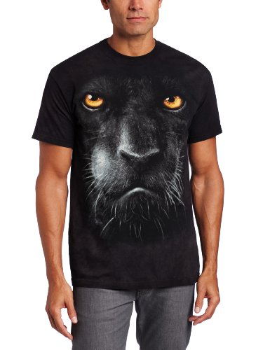 Black Panther Face Adults & Childs T-Shirt (ADULT ( XL Fits Chest 45 inch / 114 cm))