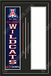 Arizona Wildcats & Your Choice of other Team Heritage Banner Framed-House... by Art and More, Davenport, IA