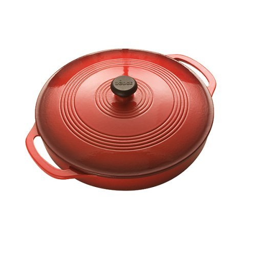 Lodge Enamel on Cast Iron  3 Quart Covered Casserole, Island Spice - Buy Lodge Enamel on Cast Iron  3 Quart Covered Casserole, Island Spice - Purchase Lodge Enamel on Cast Iron  3 Quart Covered Casserole, Island Spice (Lodge, Home & Garden, Categories, Kitchen & Dining, Cookware & Baking, Baking, Bakers & Casseroles)