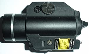 Shooter GLR18 Weapon Light with Red Laser
