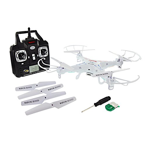 Syma X5C 2.4GHz 4-Channel RC Quadcopter with Gyro and Camera