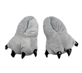 Totoro: Gray Totoro Feet Costume and House Slippers