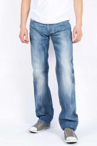 Diesel - Mens Larkee 0888B Denim Jeans, Size: 28W x 30L, Color: Denim
