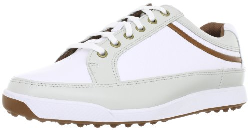 Footjoy Mens Contour Casual Spikeless Golf Shoes White Taupe Blaze 10 Diana D Stephensio