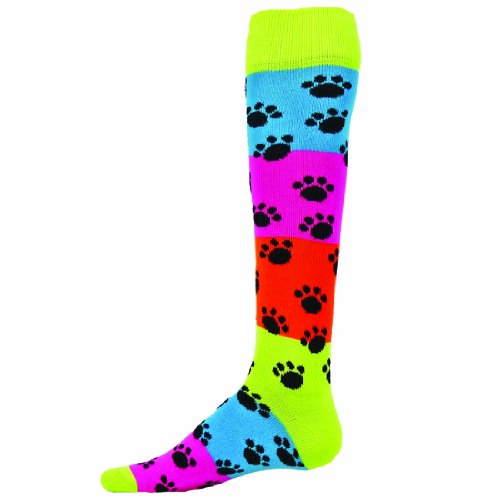 Red Lion Rainbow Paws Socks ( Multi Colored - Small )