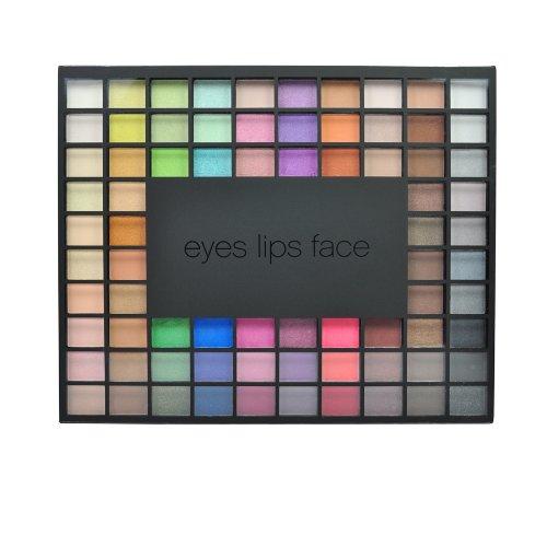e.l.f. 100 Piece Eyeshadow Palette, 3.17 Ounce