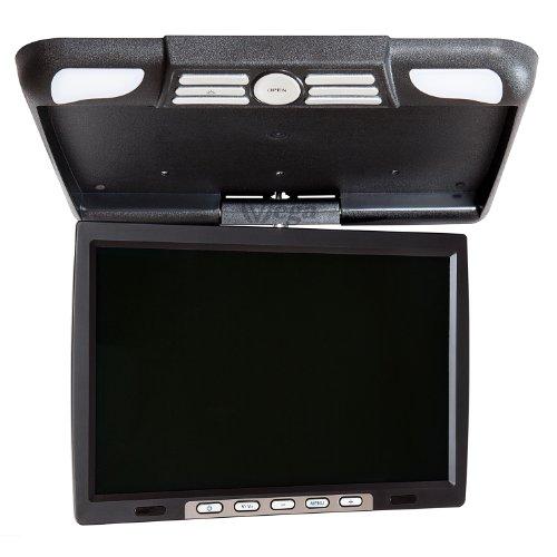 141-TFT-Deckenmonitor-358cm-Auto-KFZ-PKW-Bildschirm-Flip-Down-fr-DVD-DVBT