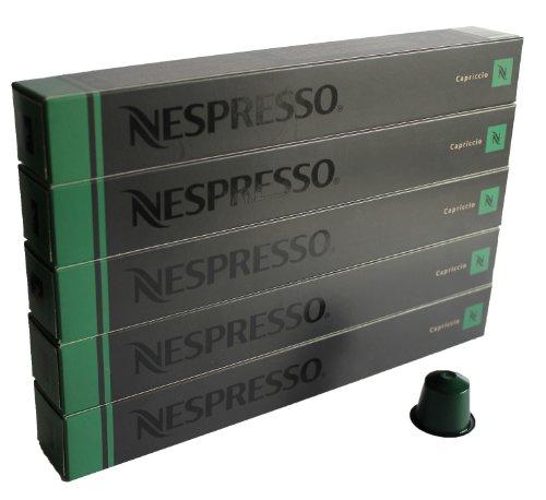 Nespresso Capsules green - 50x Capriccio - Original Nestlé - Espresso Coffee