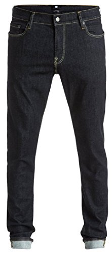 Jeans da uomo pantaloni DC Skinny Slim Hyper Stretch Jeans, Uomo, grigio
