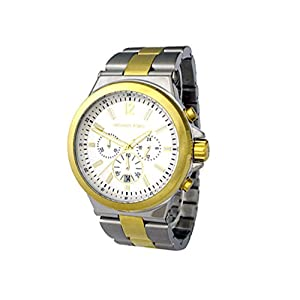 Michael Kors MK5709 - Reloj de pulsera hombre, acero inoxidable, color plateado