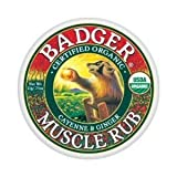 Badger Balm Muscle Rub 21g 0.75oz (Formerly Sore Muscle Rub)