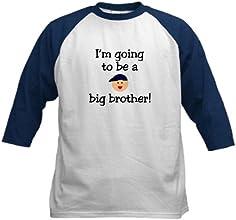 CafePress Kids Baseball Jersey - I39m going to be a big brother Kids Baseball Jersey