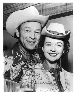 Roy Rogers and His Wife