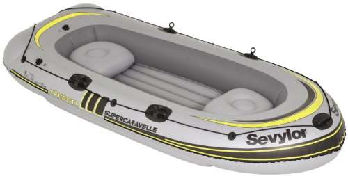 Sevylor Super Caravelle 4 Person Inflatable Boat