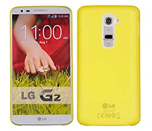LG G2 D802T Back cover, Neo Hybrid Slim Series Case LEAF Case Back Cover for LG G2 (D802T) (Yellow)