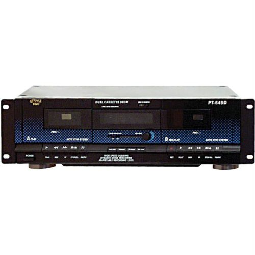 Dual Cassette Deck With Dynamic Noise Reduction