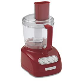 KitchenAid KFP715ER 7-Cup Food Processor, Red