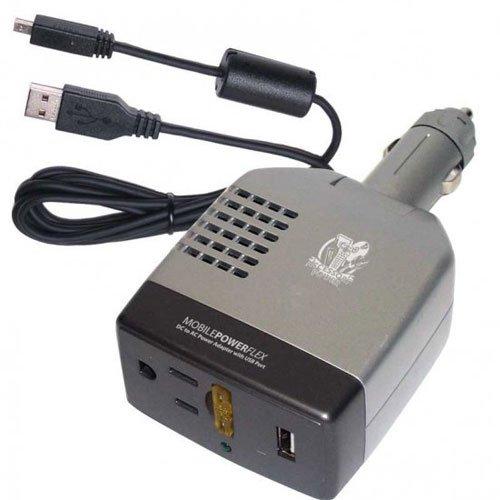 Imagen de Pro Car Series Travel Power inversor / cargador con puerto USB para ordenadores portátiles, reproductores DVD portátiles, smartphones, tablets y más