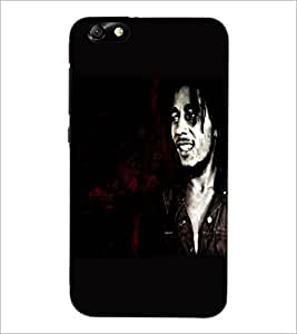 PrintDhaba Smiling Man D-5370 Back Case Cover for HUAWEI HONOR 4X (Multi-Coloured)