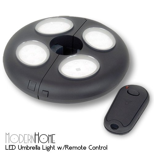 Modern Home 27 LED Umbrella Clamp Light w/Remote Control