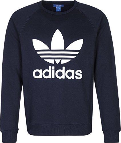 adidas Uomo Maglieria / Pullover Trefoil Fleece Crew