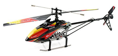 Cool Toy Helicopters : Red and black cool wltoys v large alloy cm g ch