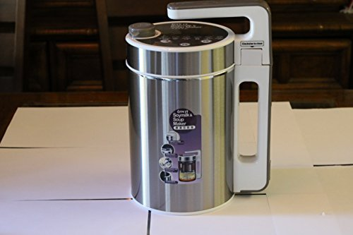 City ST Soymilk Maker, Soup Maker, Juicer, Blender & More! Stainless Steel (Bean Juice Maker compare prices)