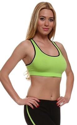 Damen Sport-BH / Fitness Sporttop - verschiedene Farben