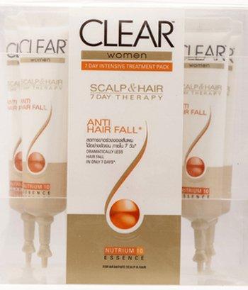 Clear Women Anti Hair Fall 3 Minutes Scalp and