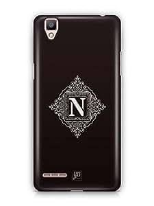 YuBingo Monogram with Beautifully Written letter N Mobile Case Back Cover for Oppo F1 Plus