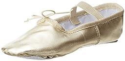 Dance Class B901 Gold Ballet Flat (Toddler/Little Kid/Big Kid),Gold,13.5 M US Little Kid