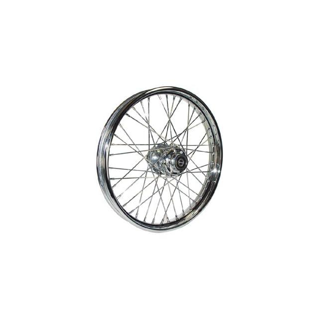 Bkrider Complete 40 Spoke 21 X 2.15 Chrome Front Wheel For Harley Davidson Softails