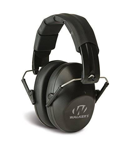 Walkers Game Ear Pro-Low Profile Folding Muff, Black (Passive Hearing Protection compare prices)