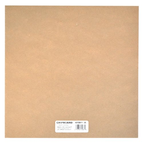 Grafix medium weight chipboard sheets inch by