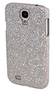 Coque samsung galaxy s4 MINI Strass Paillette brillante Housse Rigide Couleur BLANC BLANCHE
