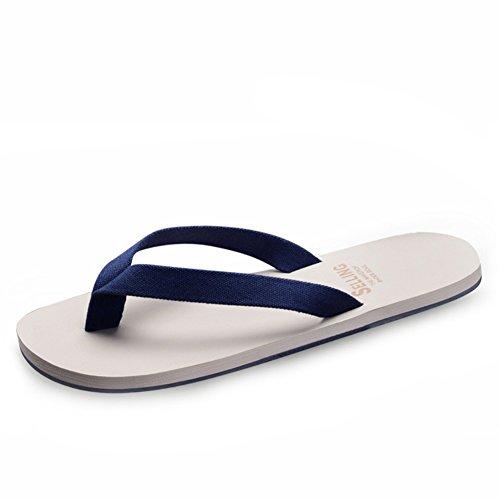 Pantoufles pour hommes en plein air l'été/Casual tongs/Version coréenne de l'actuels chaussons/Anti-dérapant pincer des souliers de plage d'Angleterre