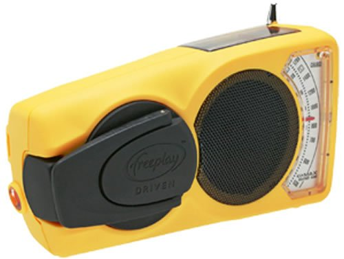 Freeplay EyeMax Weather Band Radio - Yellow