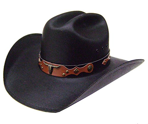 modestone-mens-traditional-straw-cappello-cowboy-l-black