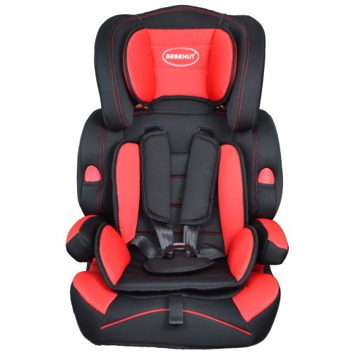 Convertible Baby Car Seat & Booster 9-36 kg Group 1-2-3,Red Black