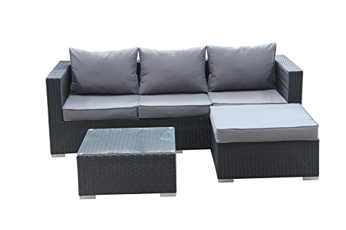 die 113 besten rattansofas im vergleich 2018 g nstiger. Black Bedroom Furniture Sets. Home Design Ideas