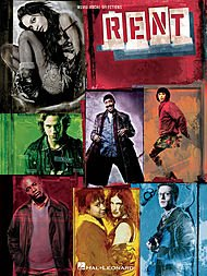 Hal Leonard Rent - Movie Vocal Selections arranged for piano, vocal, and guitar (P/V/G) (Rent Piano Sheet Music compare prices)