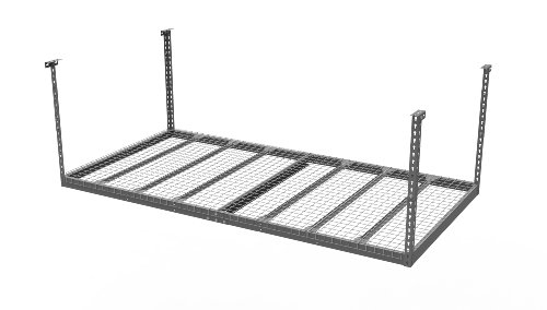 newage-products-40151-4-feet-by-8-feet-ceiling-mount-garage-storage-rack-gray