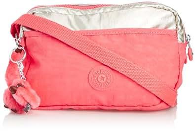 Kipling Women's Haru Shoulder Bag One Size Pink Silver C