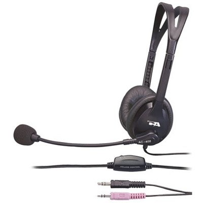 New - Cyber Acoustics Ac-400Mv Speech Recognition Headset - 719057