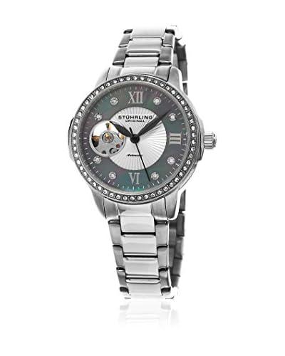 Stuhrling Original Reloj 494.02 Perle 491 Plateado 35 mm