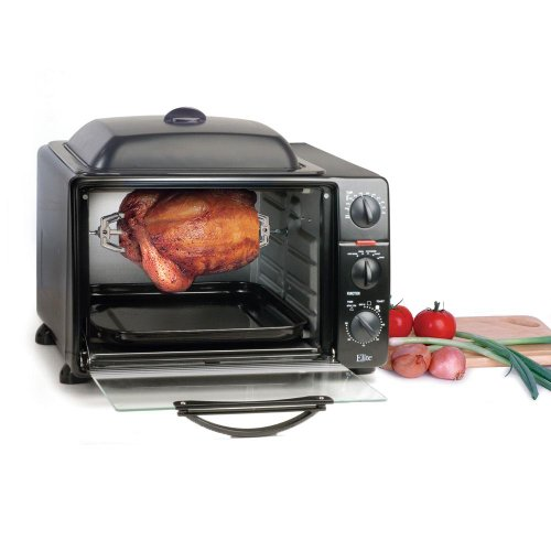 Countertop Rotisserie Oven Reviews : ... Toaster: Maxi-Matic ERO-2008S Toaster Oven Broiler Rotisserie Reviews